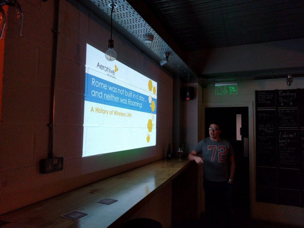 Ash Nurcombe's Aerohive presentation