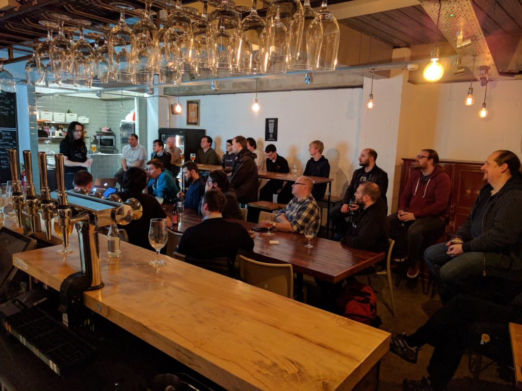 The grand attendance of NetMcr January
